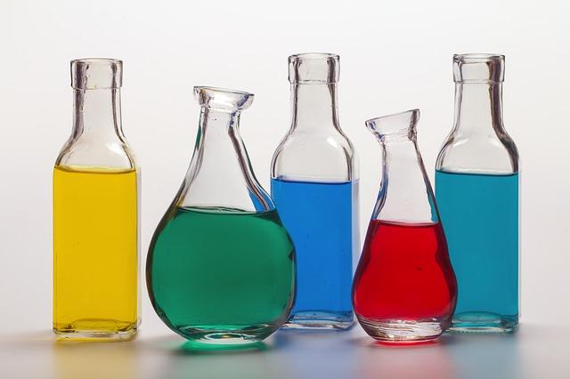bottles-coloured-liquid