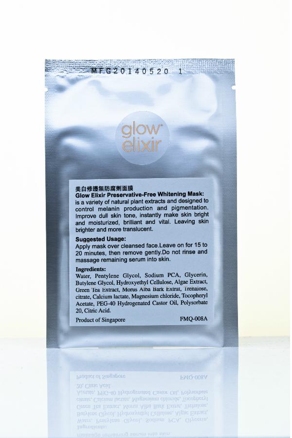 Glow Elixir Whitening Mask